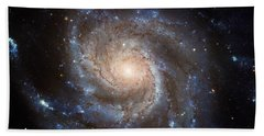 Messier 101 Bath Towel by Barbara McMahon