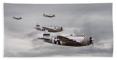 P47 Thunderbolt  Top Cover Hand Towel