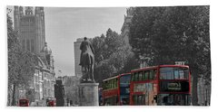 Routemaster London Buses Bath Towel