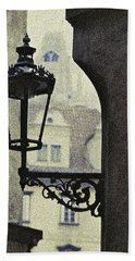 Hand Towel featuring the photograph  September In Prague by Ira Shander