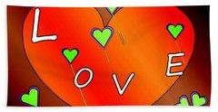 Simple  Love  Heart  - 505  Hand Towel