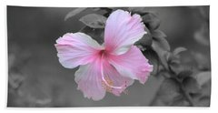 Bath Towel featuring the photograph  Soft Pink by Michelle Meenawong