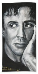 Sylvester Stallone Hand Towel
