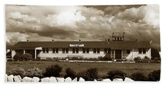 The Fort Ord Station Hospital Administration Building T-3010 Building Fort Ord Army Base Circa 1950 Bath Towel