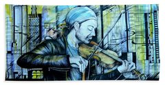 The Rock Symphony. David Garrett Bath Towel