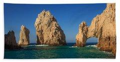 The Sea Arch El Arco De Cabo San Lucas Bath Towel