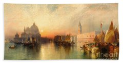 View Of Venice Hand Towel