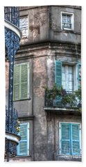0254 French Quarter 10 - New Orleans Hand Towel by Steve Sturgill