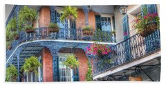 0255 Balconies - New Orleans Hand Towel