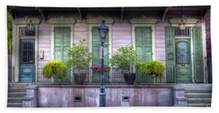 0267 French Quarter 5 - New Orleans Bath Towel