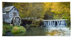0291 Hyde's Mill Wisconsin Bath Towel