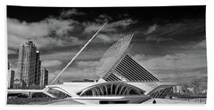 0352 Milwaukee Art Museum Infrared Bath Towel