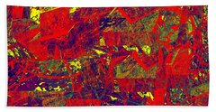 0384 Abstract Thought Bath Towel