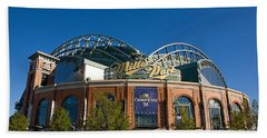 0386 Miller Park Milwaukee Hand Towel