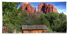 0682 Red Rock Crossing - Sedona Arizona Hand Towel