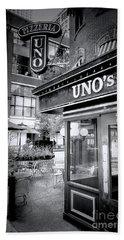 0748 Uno's Pizzaria Hand Towel
