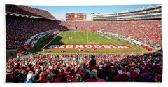 0814 Camp Randall Stadium Bath Towel