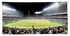 0856 Soldier Field Panoramic Bath Towel
