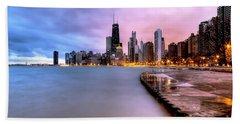 0865 Chicago Sunrise Hand Towel