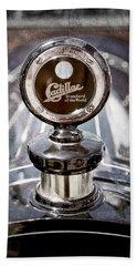 1911 Cadillac Roadster Hood Ornament - Moto Meter Hand Towel