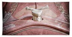 1919 Ford Volunteer Fire Truck Hood Ornament Bath Towel