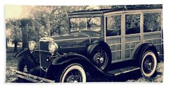 1931 Type 150-b Ford Hand Towel by Carlos Avila