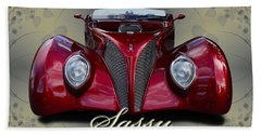 1939 Ford Coupe Hand Towel