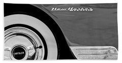 1950 Chrysler New Yorker Coupe Wheel Emblem Hand Towel