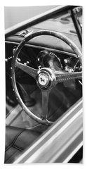 1952 Ferrari 212 Inter Vignale Coupe Steering Wheel Emblem Hand Towel
