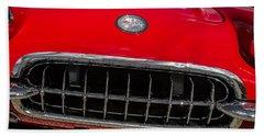 1958 Chevrolet Corvette Grille Hand Towel