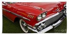 1958 Chevy Impala Hand Towel