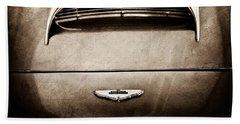 1961 Aston Martin Db4 Coupe Emblem Hand Towel