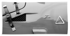 1967 Alfa Romeo Tz2 Zagato Coupe Side Emblems Hand Towel
