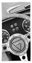 1972 Ginetta Steering Wheel Emblem Bath Towel