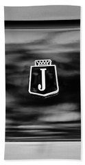1974 Jensen Interceptor Emblem Hand Towel