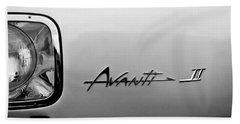 1978 Avanti II Headlight Emblem Hand Towel