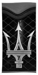 2005 Maserati Gt Coupe Corsa Emblem Bath Towel