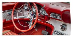 62 Thunderbird Interior Bath Towel