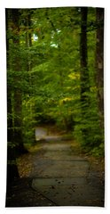 A Walk In The Woods Bath Towel