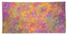 Abstract 14 Bath Towel by Kenny Francis