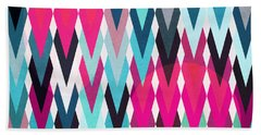 Fall Colors Digital Art Bath Towels