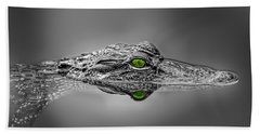 Alligator Bath Towel