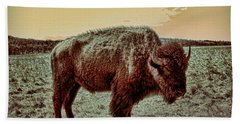 American Buffalo  Bath Towel