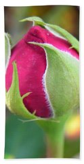 Hand Towel featuring the photograph Anticipation by Deb Halloran