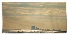 Atlantic City Skyline Bath Towel
