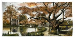 Autumn Stroll Bath Towel