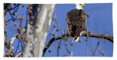 Bald Eagle 2 Bath Towel
