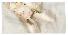 Ballet Shoes Hand Towel