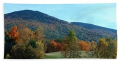 Bath Towel featuring the photograph Belknap Mountain by Mim White