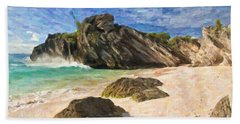 Bermuda Beach Hand Towel